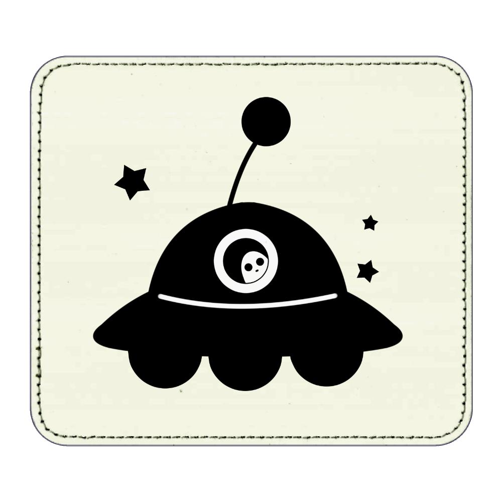 UFO マウスパッド レザーマウスパッド(スクエア)