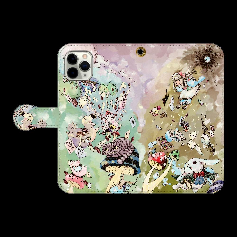 不思議の国のアリス iPhone11 Pro 手帳型スマホケース