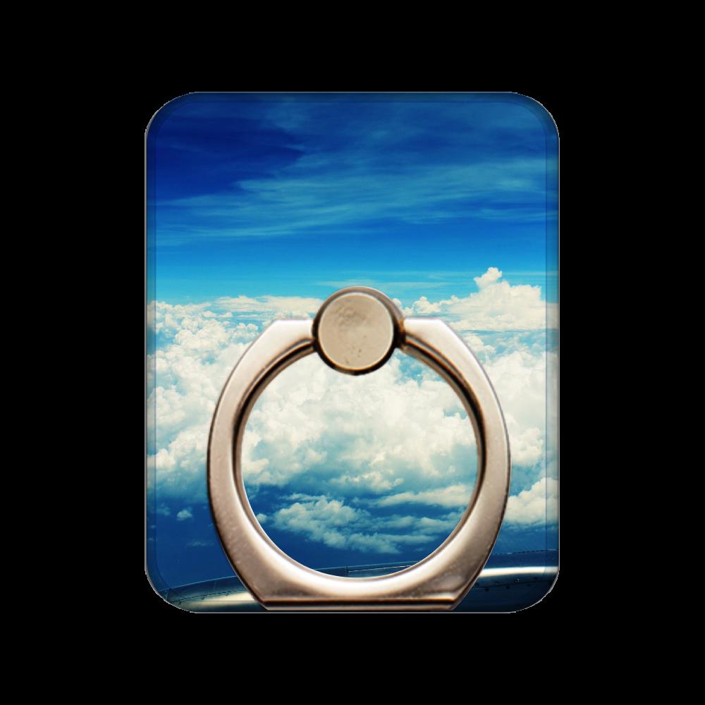 飛行機から見える空 スマホリング