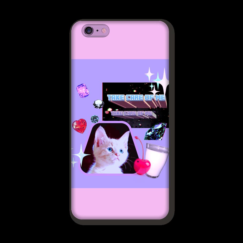 異次元ネコちゃん iPhone6Plus/6sPlus ツヤあり(コート) iPhone6Plus/6sPlus
