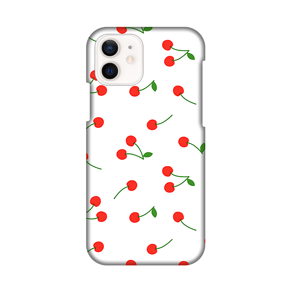 チェリーiPhoneケース iPhone12 / 12 Pro