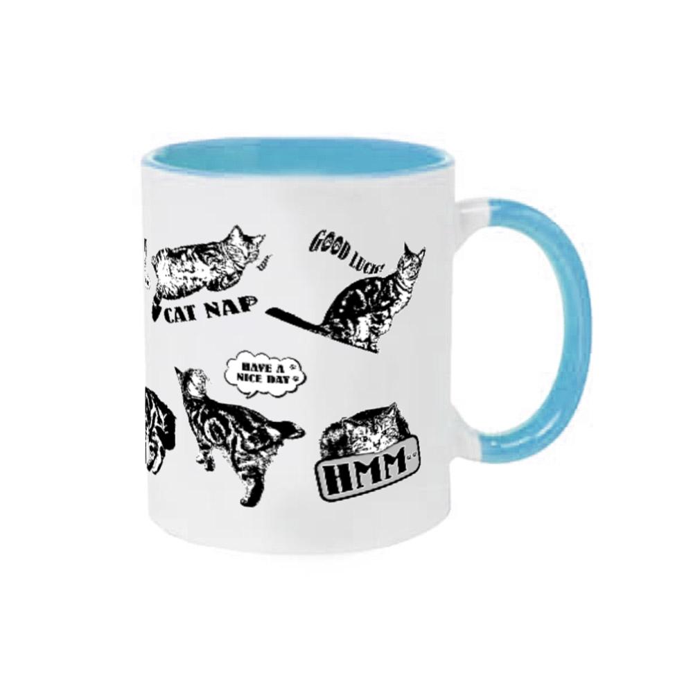 CAT_ALL_1 2トーンマグカップ