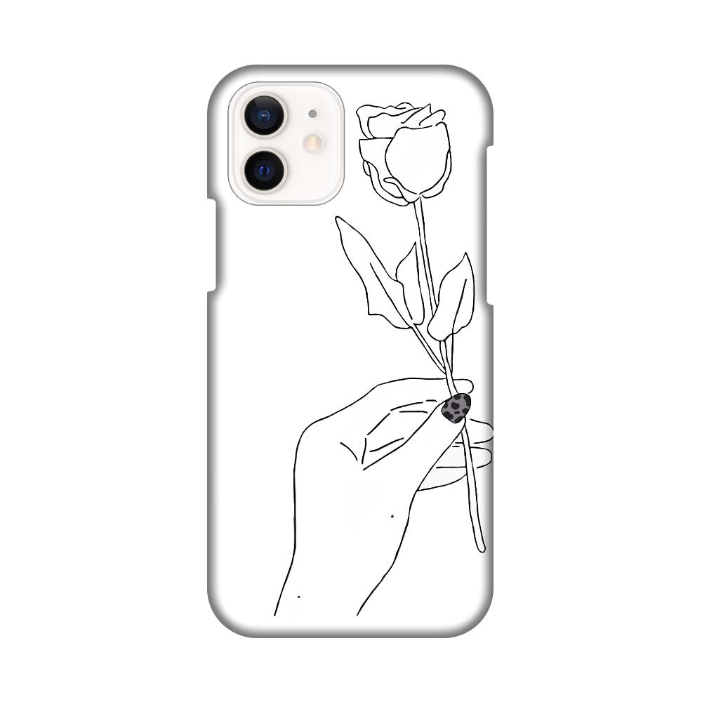 薔薇のiPhoneケース iPhone12 / 12 Pro