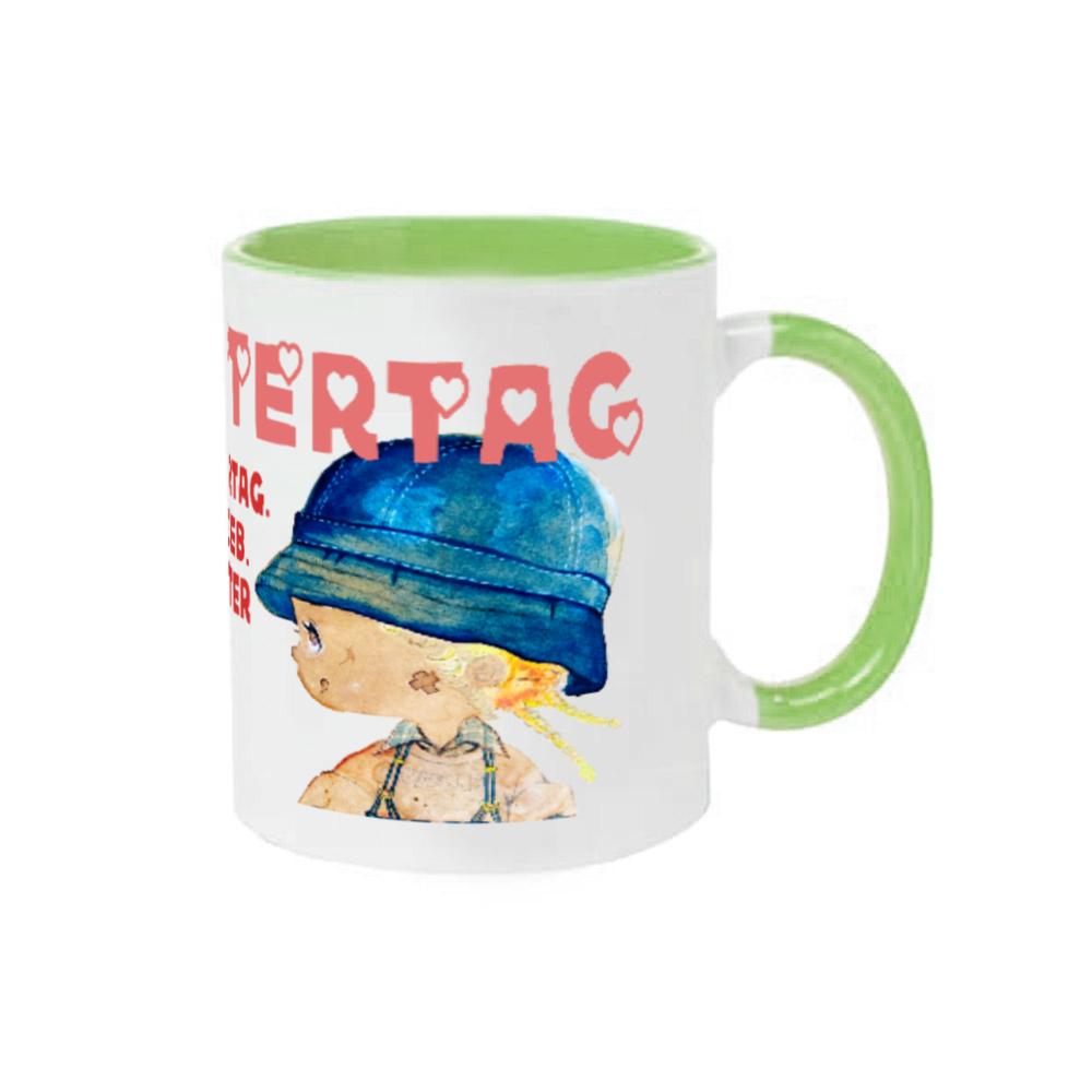 2021母の日【MutterTag】グッズ 2トーンマグカップ