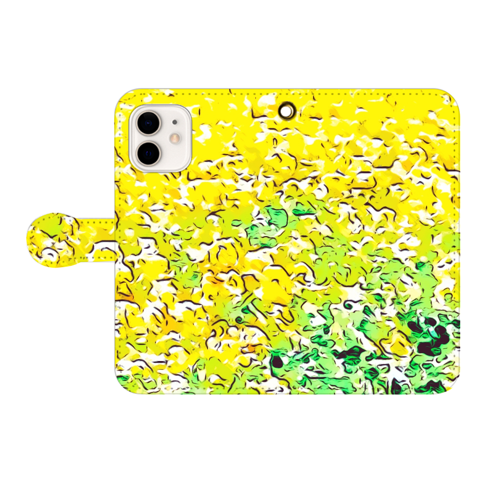 春色スマホケース 手帳型(iPhone12/iPhone12pro対応) iPhone12/12pro 手帳型スマホケース