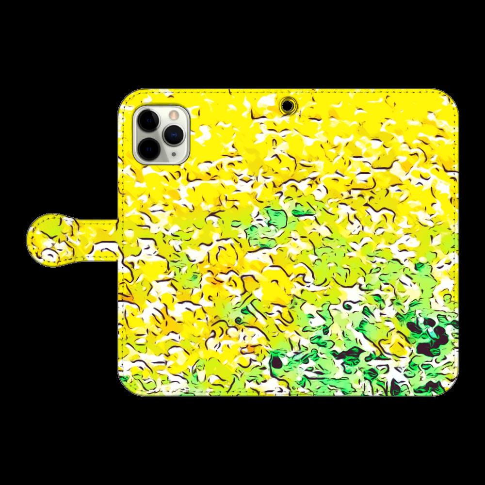 春色スマホケース 手帳型(iPhone11pro対応) iPhone11 Pro 手帳型スマホケース