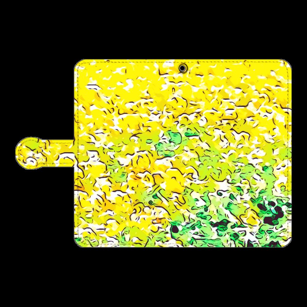春色スマホケース 手帳型(Android複数機種) 手帳型ベルト付きアンドロイドM