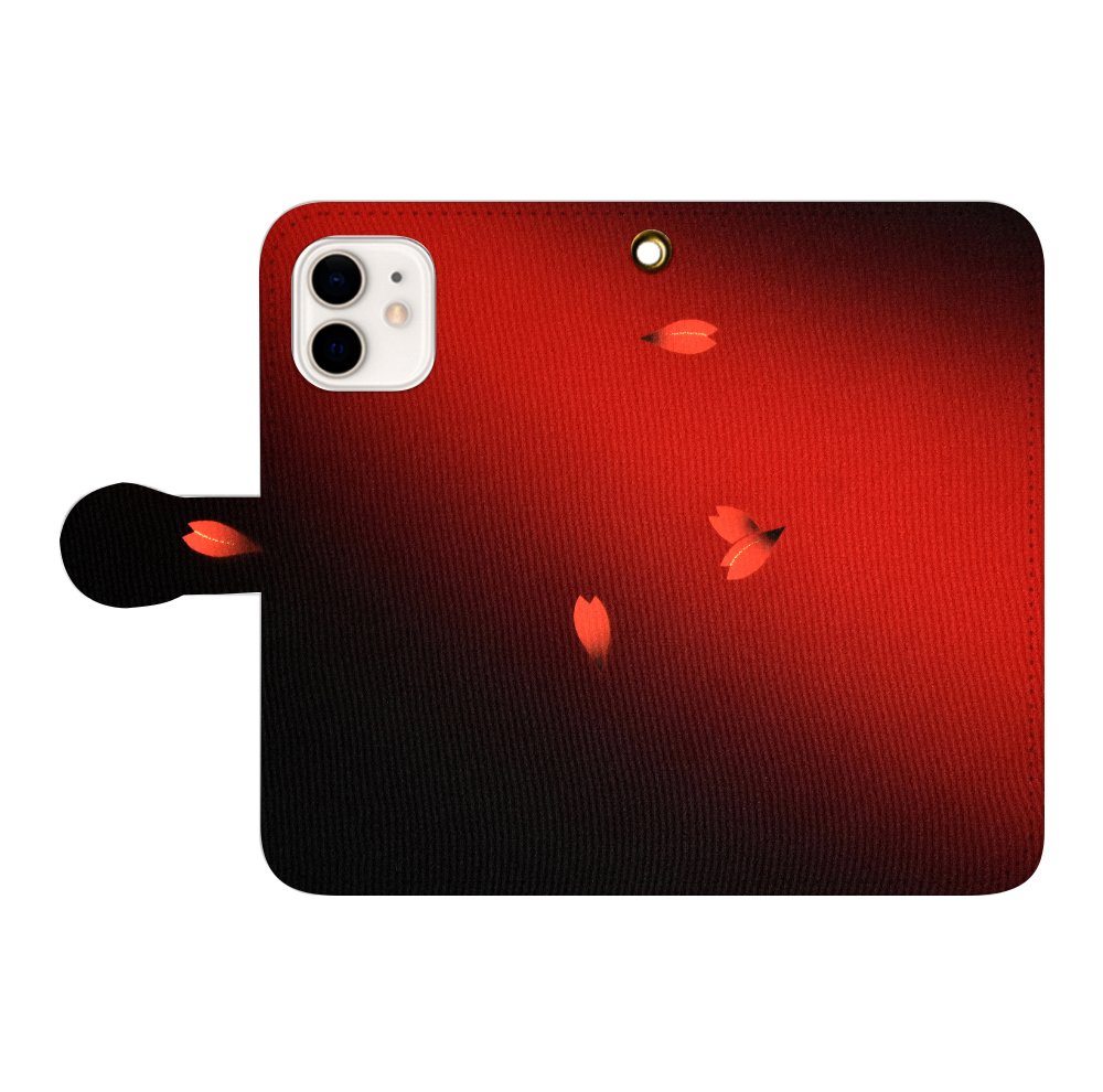 和柄 iPhoneケース 手帳型 iPhone12/12pro 手帳型スマホケース