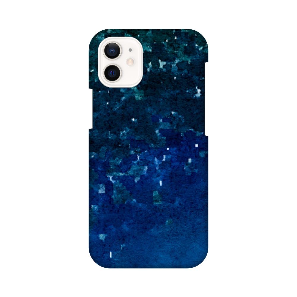 「夜空に願いを」スマホケース(iPhone12mini) iPhone12 mini