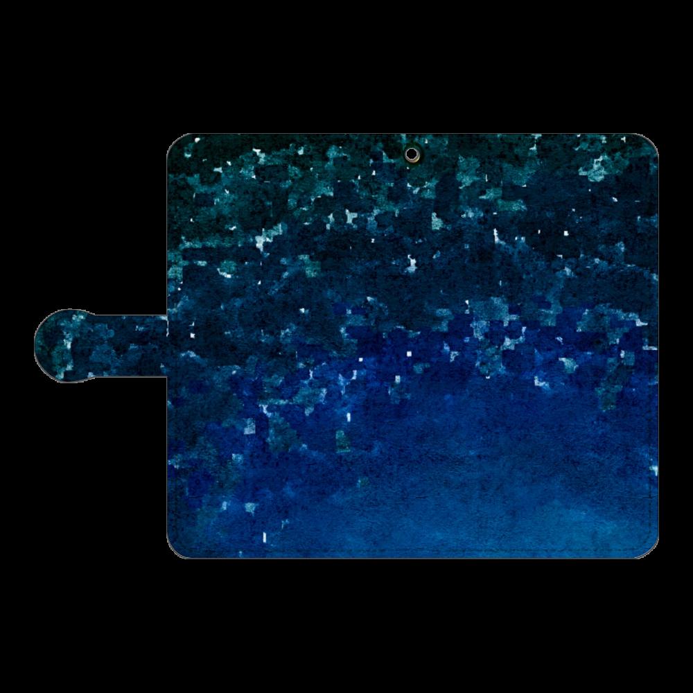 「夜空に願いを」スマホケース 手帳型(Android複数機種) 手帳型ベルト付きアンドロイドM