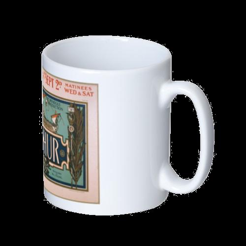 ポップアート ポスター マグカップ ILLINOIS THEATER メンズ レディース マグカップ  ホワイト