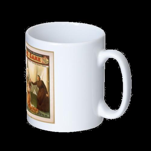 ポップアート ポスター マグカップ SHILDREN'S SAKE マグカップ  ホワイト
