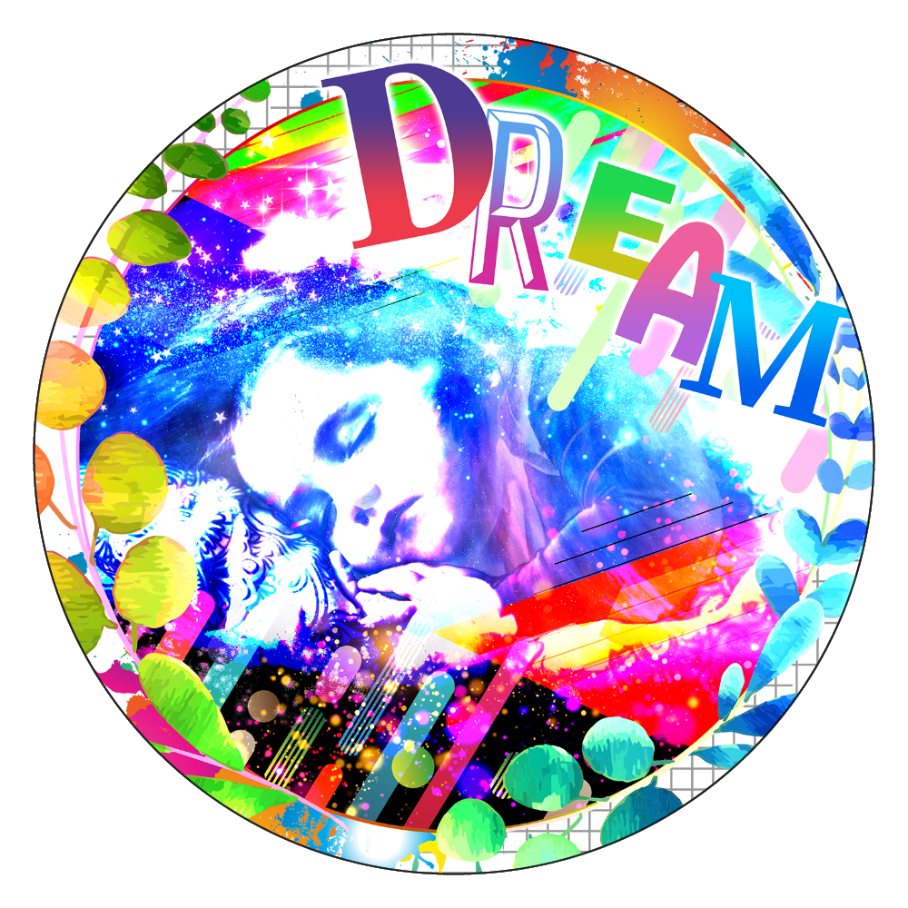 DREAM 白雲石コースター 丸