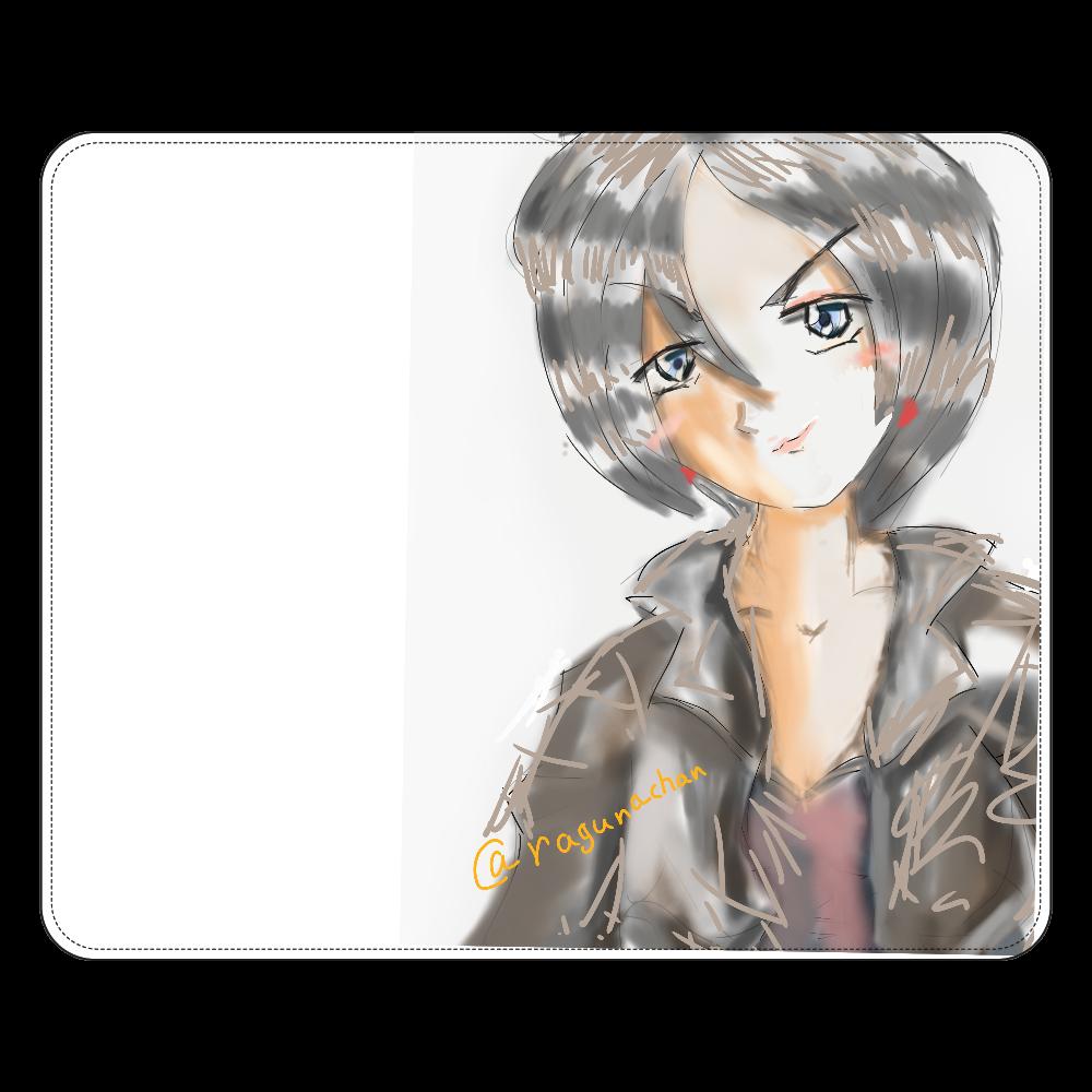 ショートカットのニヒルな姉 iPhone SE2ミラーパネルケース