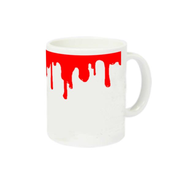 出血 スーパーホワイトマグカップV1