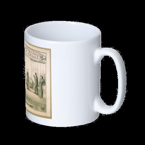ポップアート ポスター マグカップ SHILDREN'S SAKE -3 マグカップ  ホワイト
