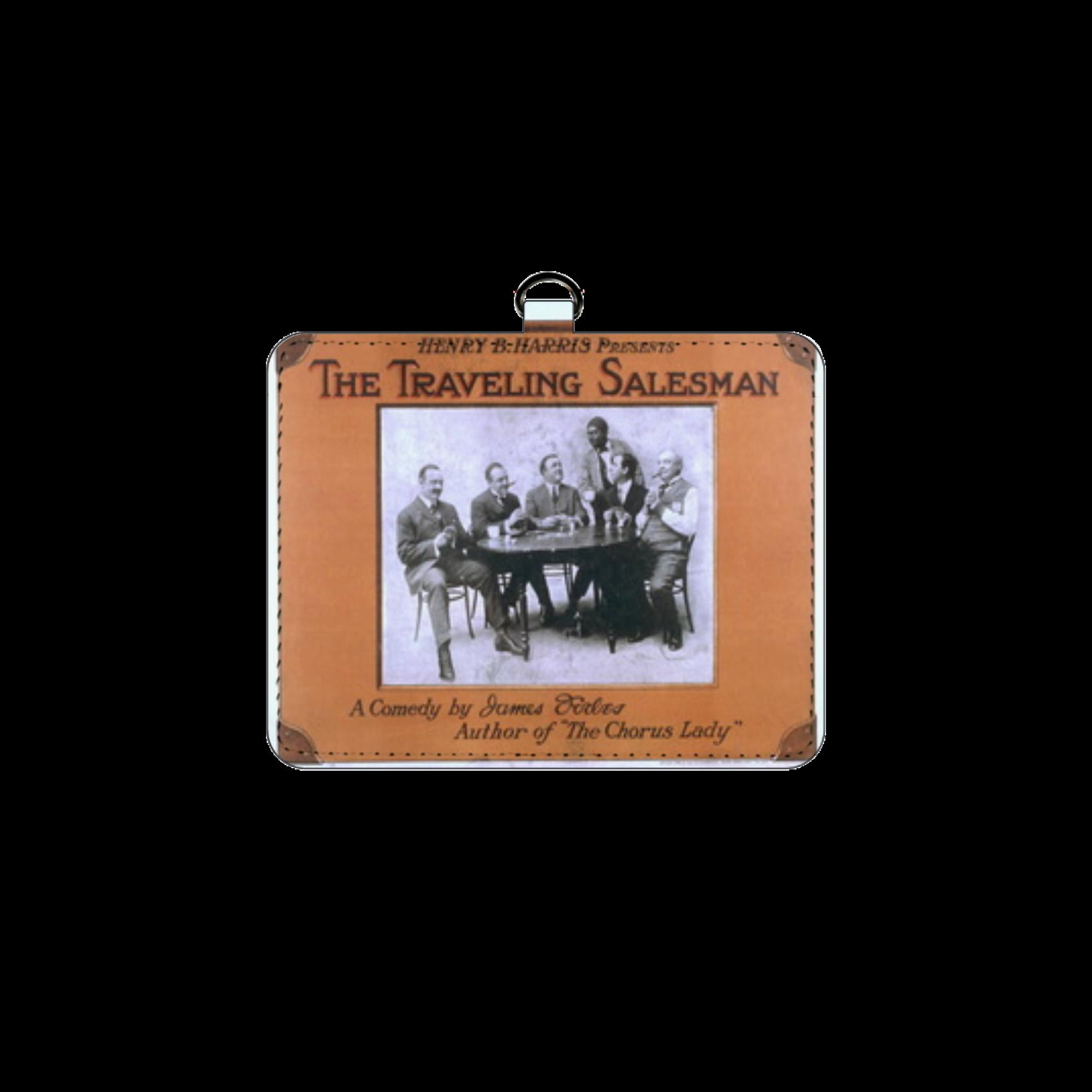 ポップアート ポスター パスケース THE TRAVELING SALESMAN メンズ レディース パスケース
