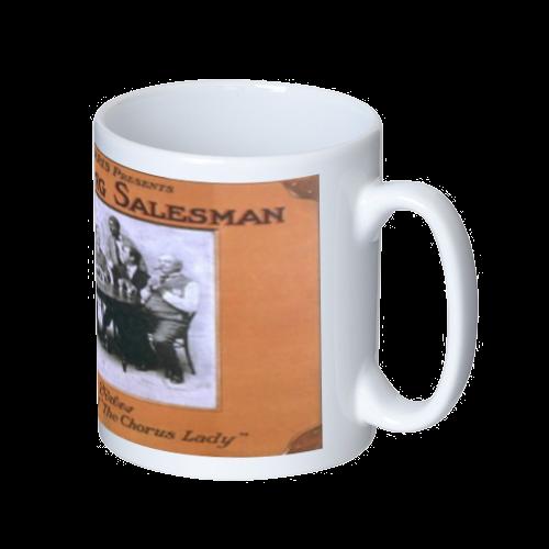 ポップアート ポスター マグカップ THE TRAVELING SALESMAN メンズ レディース マグカップ  ホワイト