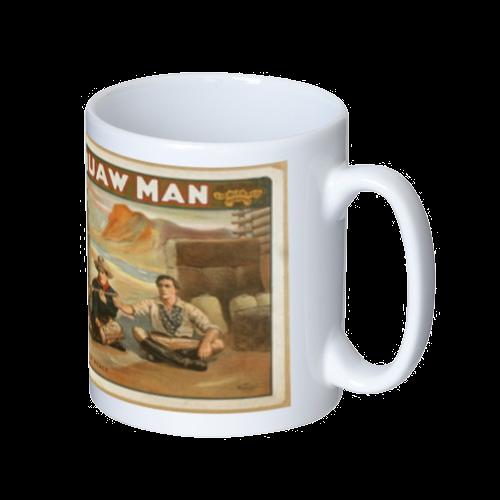 ポップアート ポスター マグカップ WILLIAM FAVERSHAM THE SQUAW MAN マグカップ  ホワイト