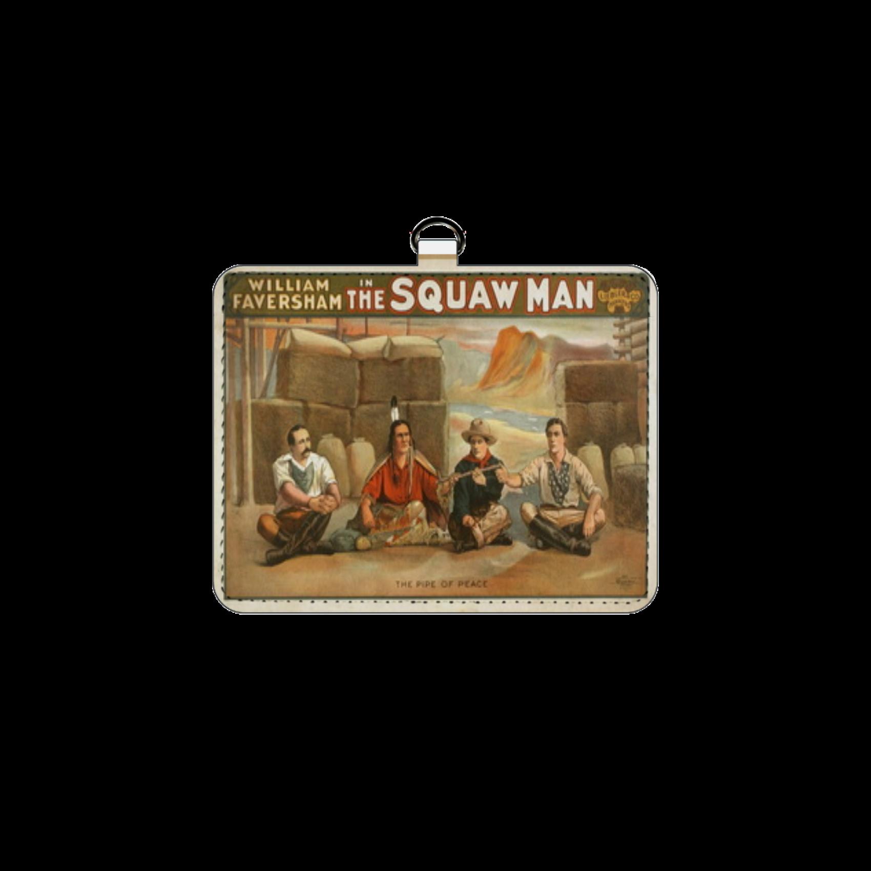 ポップアート ポスター パスケース WILLIAM FAVERSHAM THE SQUAW MAN パスケース