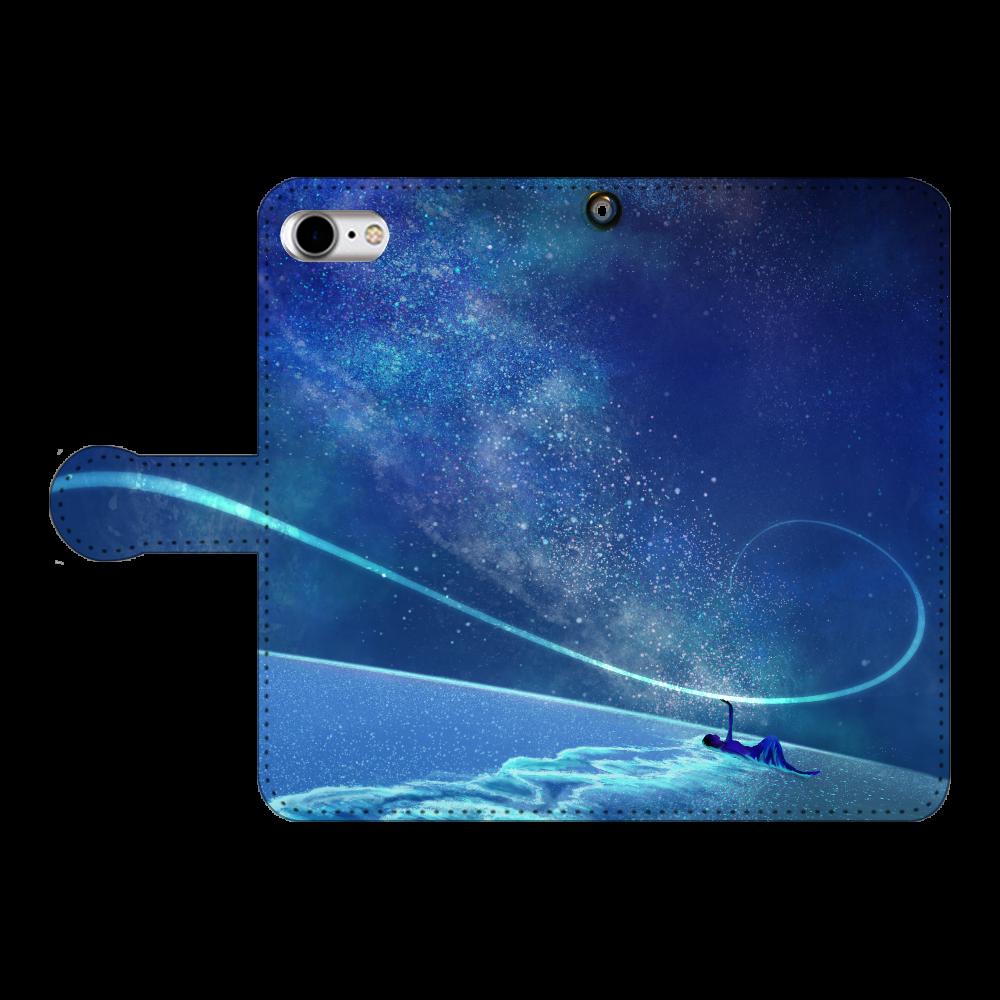 「2021年4月20日 14:38」に作成したデザイン iPhoneSE2 手帳型スマホケース