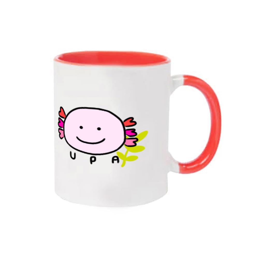 ウーパールーパーツートンカラーマグカップ☆リューシー☆ 2トーンマグカップ