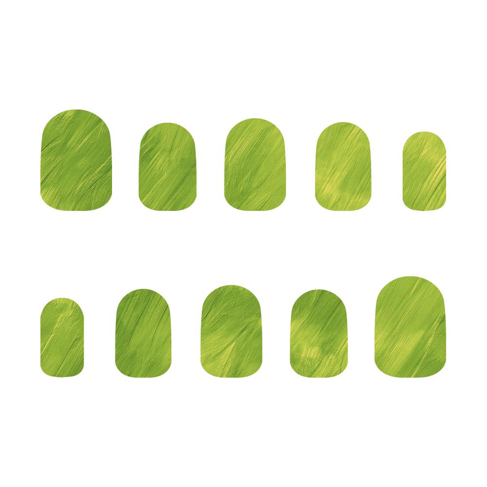 緑 ネイルチップM