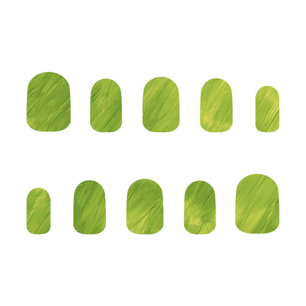緑 ネイルチップS