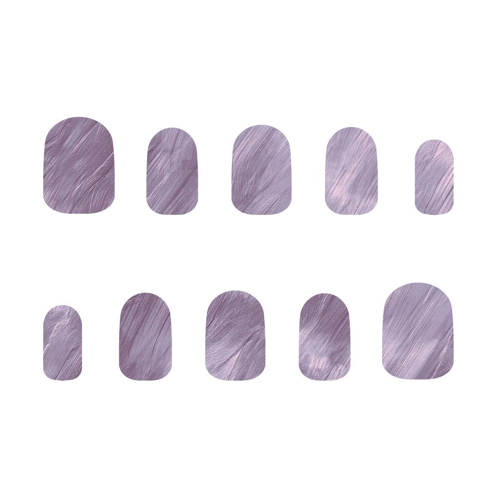 紫 ネイルチップS