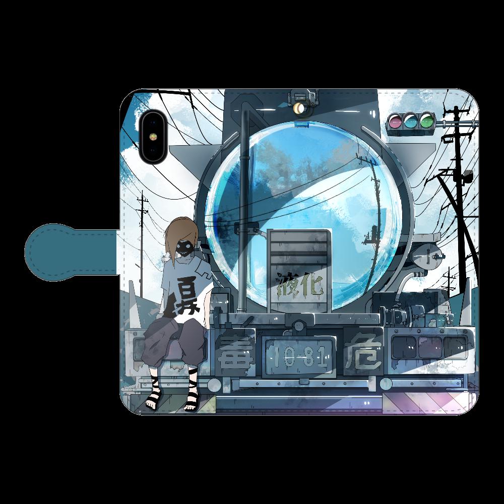 ローリーの反射鏡 iPhoneX/Xs 手帳型スマホケース