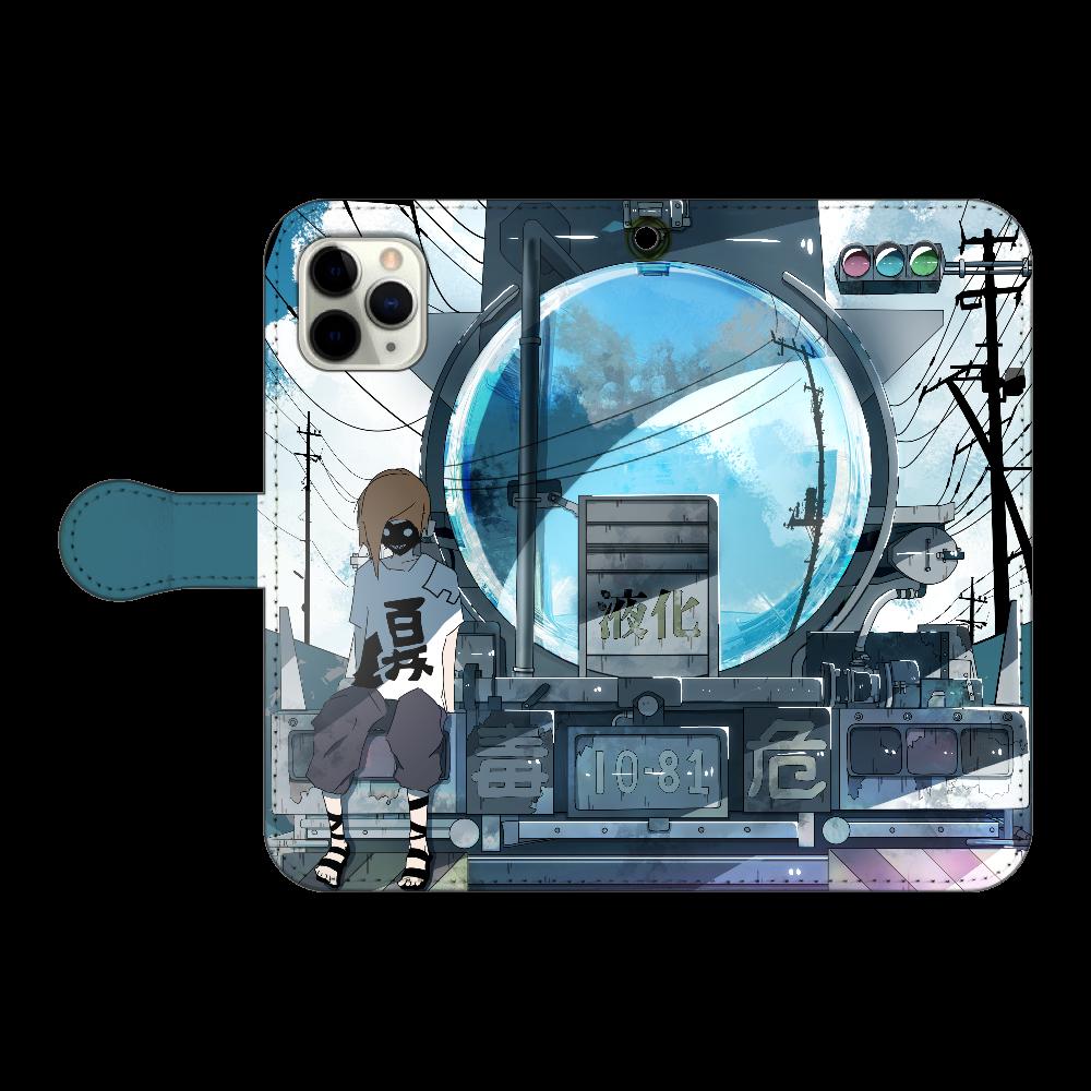 ローリーの反射鏡 iPhone11 Pro 手帳型スマホケース