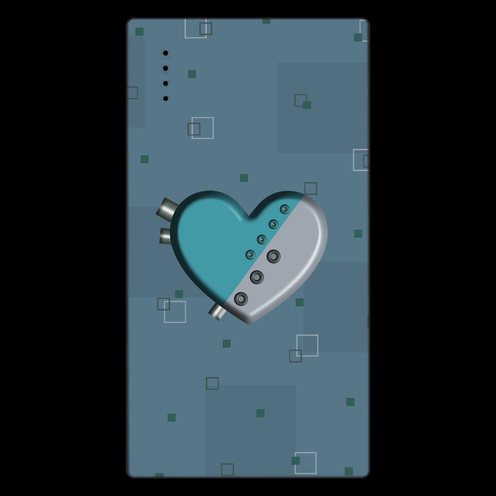 ハート 機械 モバイルバッテリー cheero モバイルバッテリー(5000mAh)