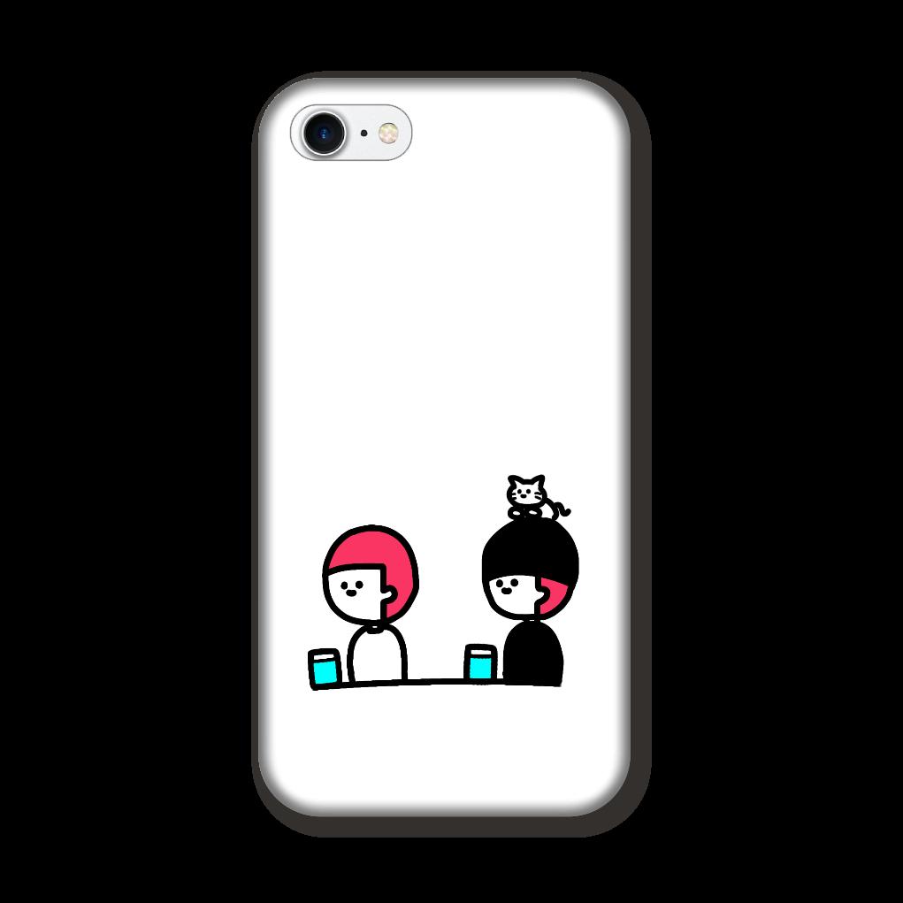牛丼を待つ1人と2匹 iPhone8