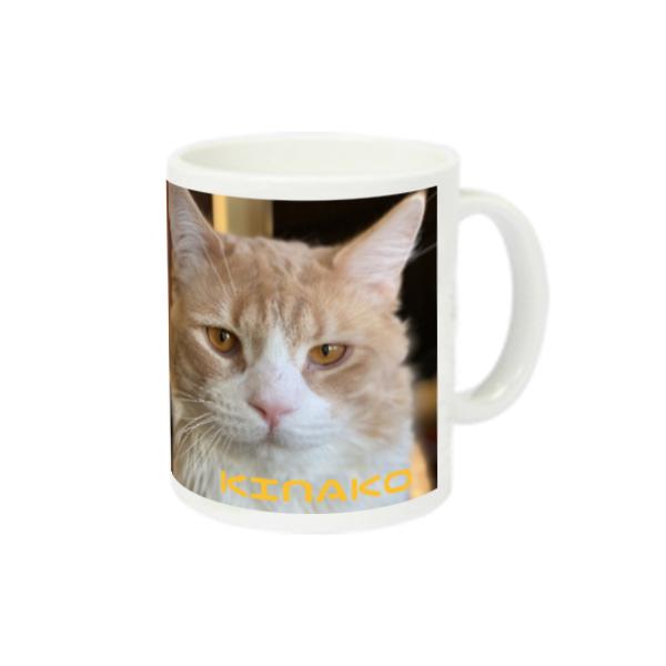 猫ラジマグカップ きなこ編 スーパーホワイトマグカップV1