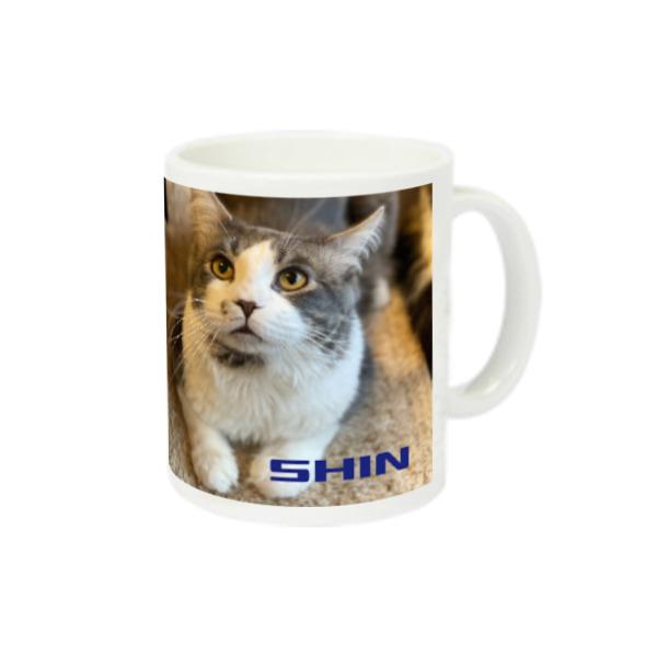 猫ラジマグカップ シンちゃん編 スーパーホワイトマグカップV1