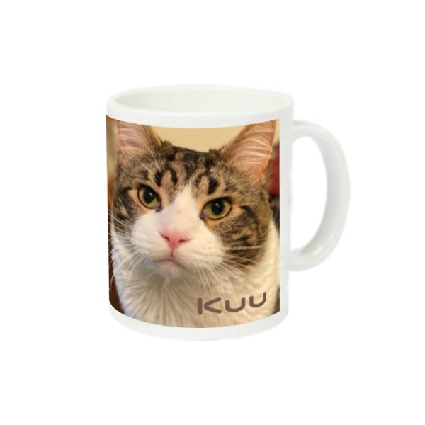猫ラジマグカップ くうちゃん編 スーパーホワイトマグカップV1