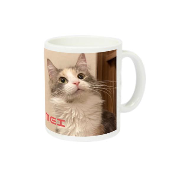 猫ラジマグカップ スーパーホワイトマグカップV1