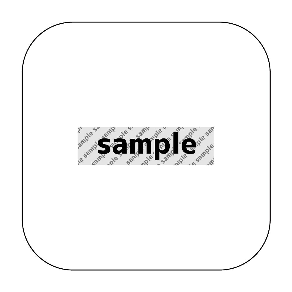 サンプル モバイルバッテリー ワイヤレス充電器スクエア5W