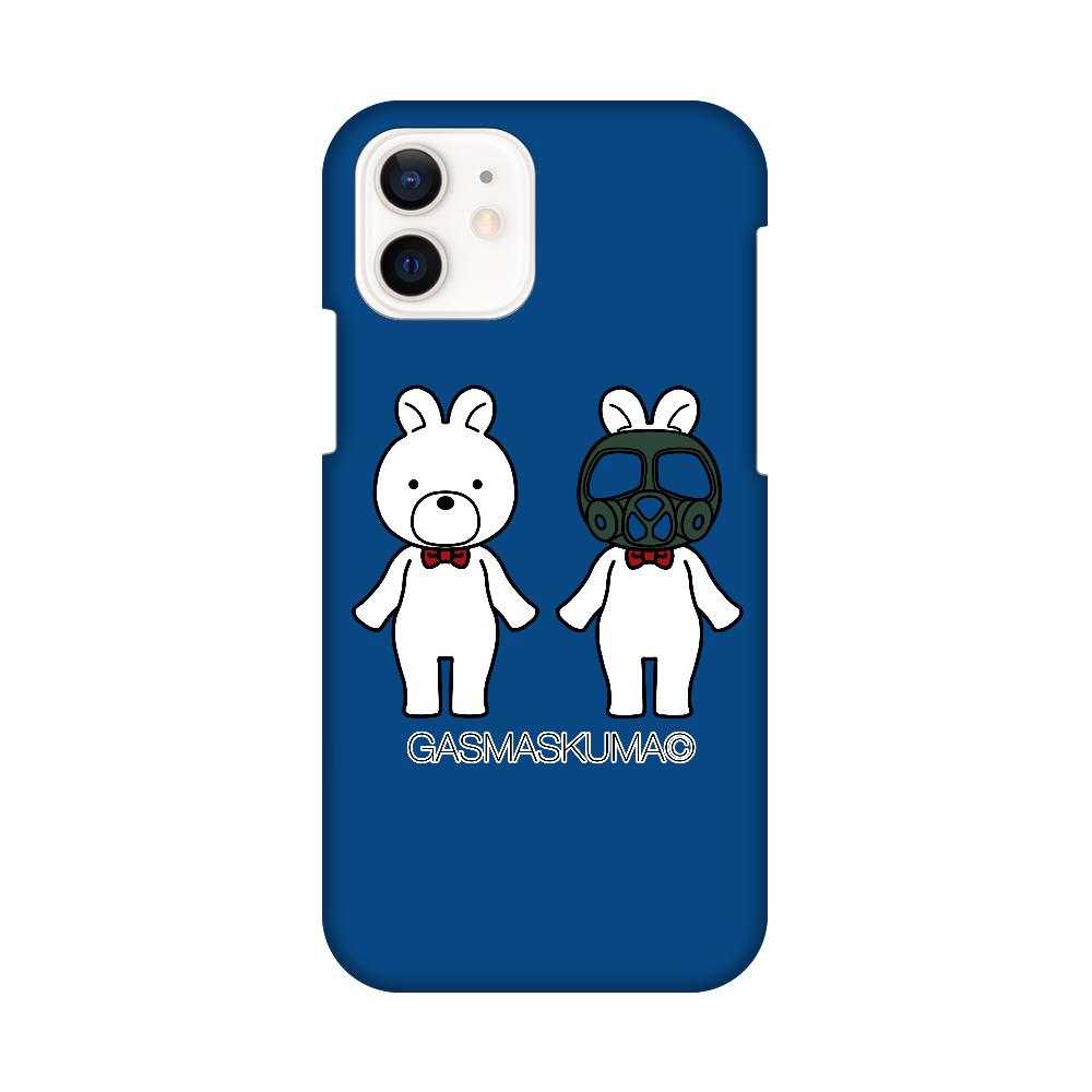 ガスマスくまちゃんスマホケース iPhone12 / 12 Pro