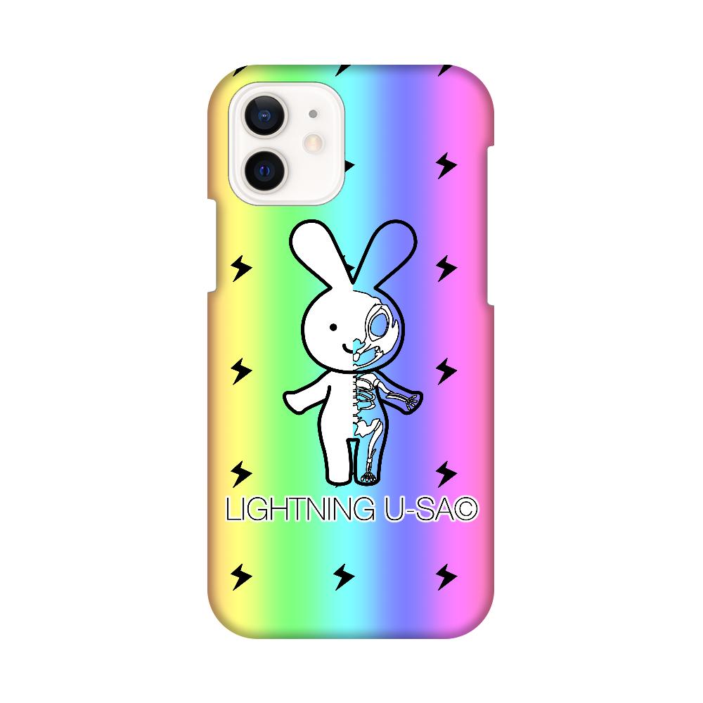 ライトニングうさちゃんスマホケース iPhone12 / 12 Pro