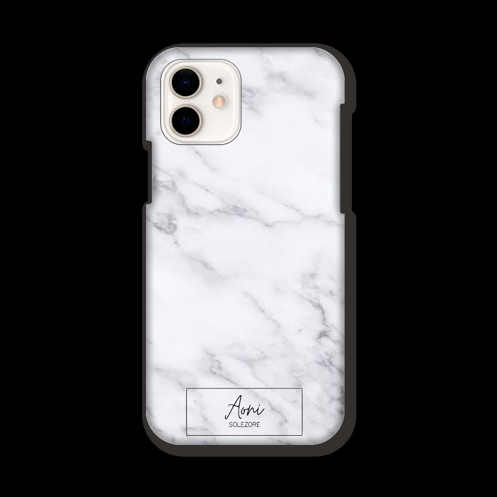 aoni×solezore iPhone12/12pro大理石柄スマホケース iPhone12 / 12 Pro
