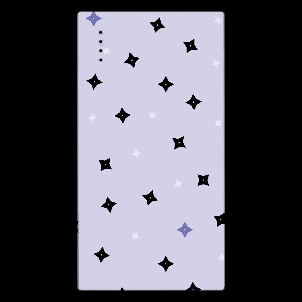 手裏剣・黒青 モバイルバッテリー cheero モバイルバッテリー(5000mAh)