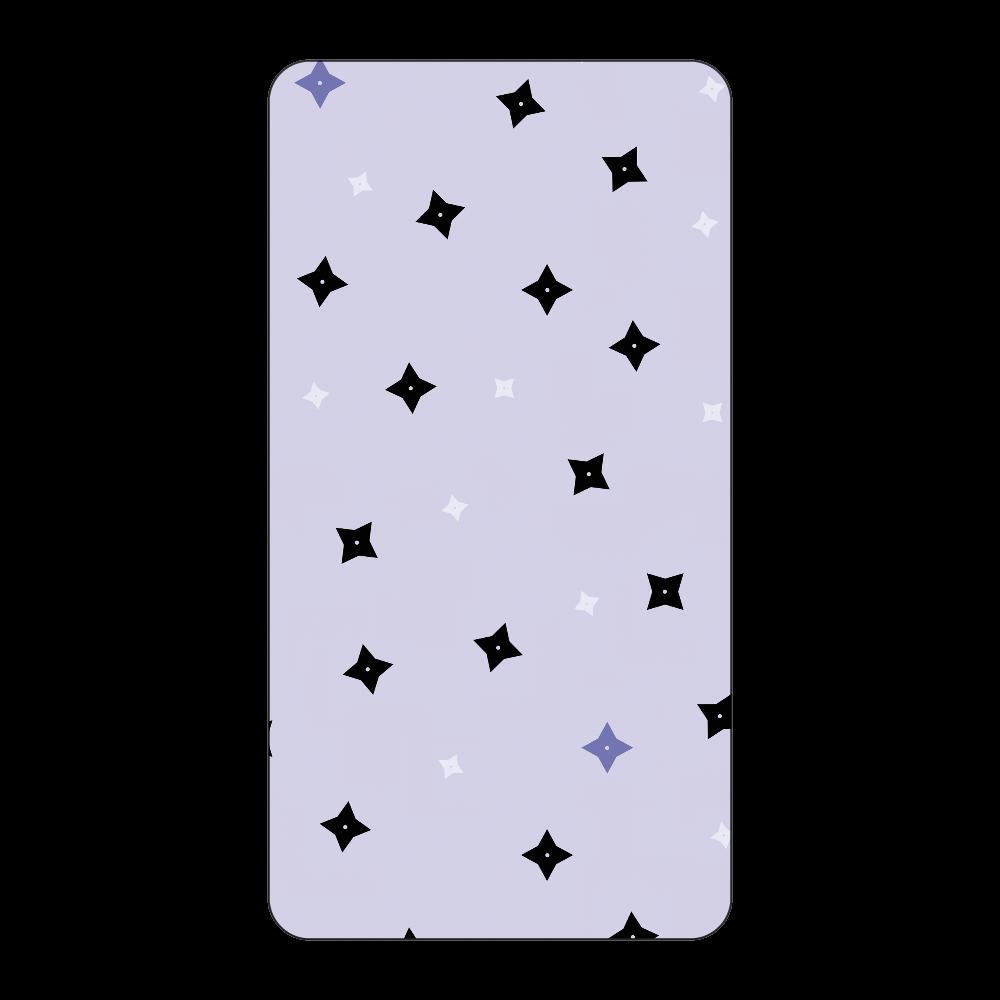 手裏剣・黒青 モバイルバッテリー インジケータ無バッテリー10000mAh