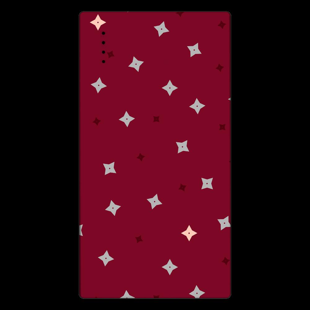 手裏剣・灰桃 モバイルバッテリー cheero モバイルバッテリー(5000mAh)