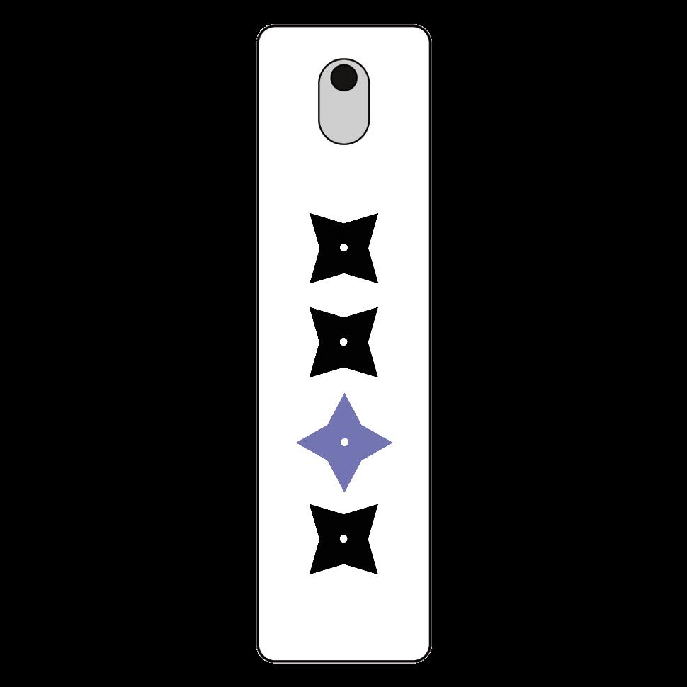 手裏剣・黒青 携帯用スプレーボトル 携帯用スプレーボトル