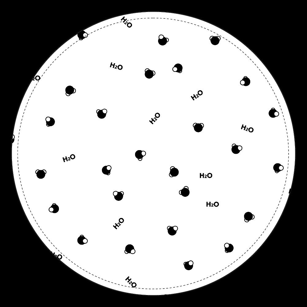 水分子 コインケース コインケース