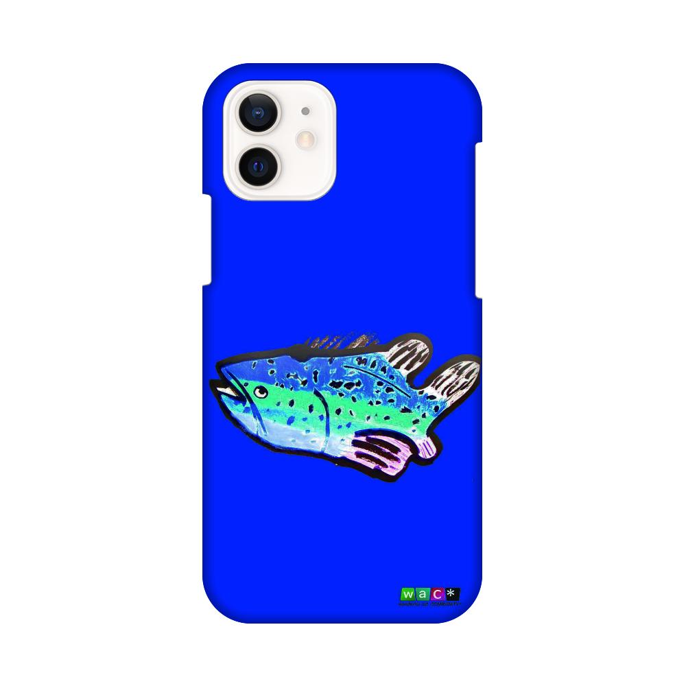 対応機種:iphone 12・pro ポリカーボネート樹脂 魚01 iPhone12 / 12 Pro