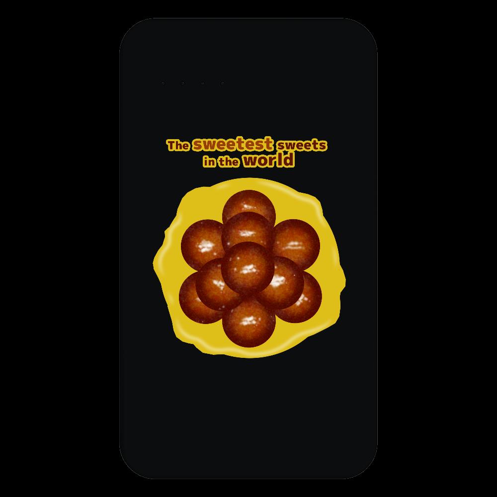 世界一甘いお菓子 残量表示付きモバイルバッテリー(4000mAh) 残量表示付きモバイルバッテリー(4000mAh)