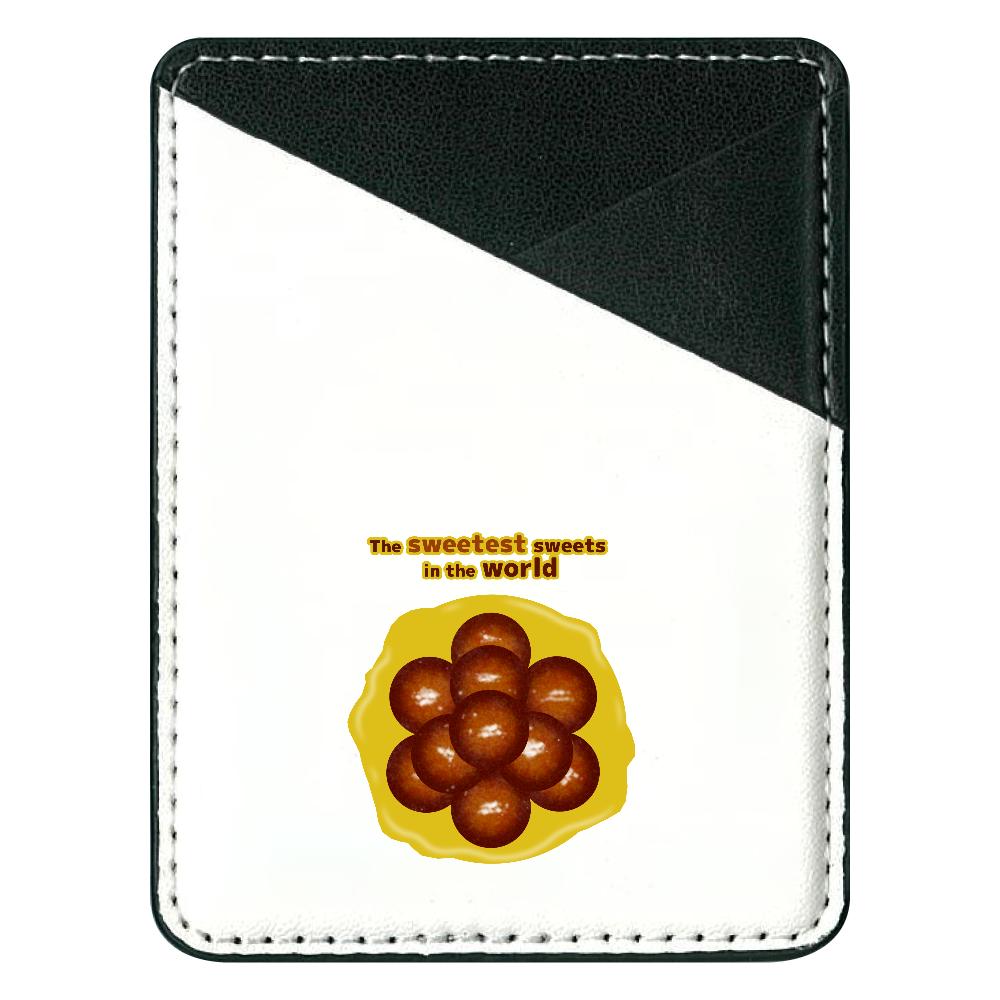 世界一甘いお菓子 貼り付けパスケース 貼り付けパスケース(スマホ用)