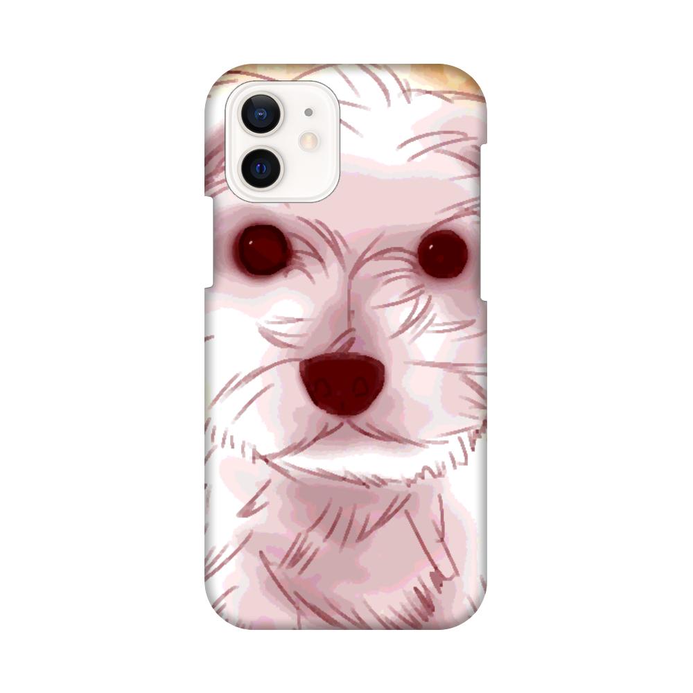 マルチーズ★iPhone12用スマホケース iPhone12 / 12 Pro